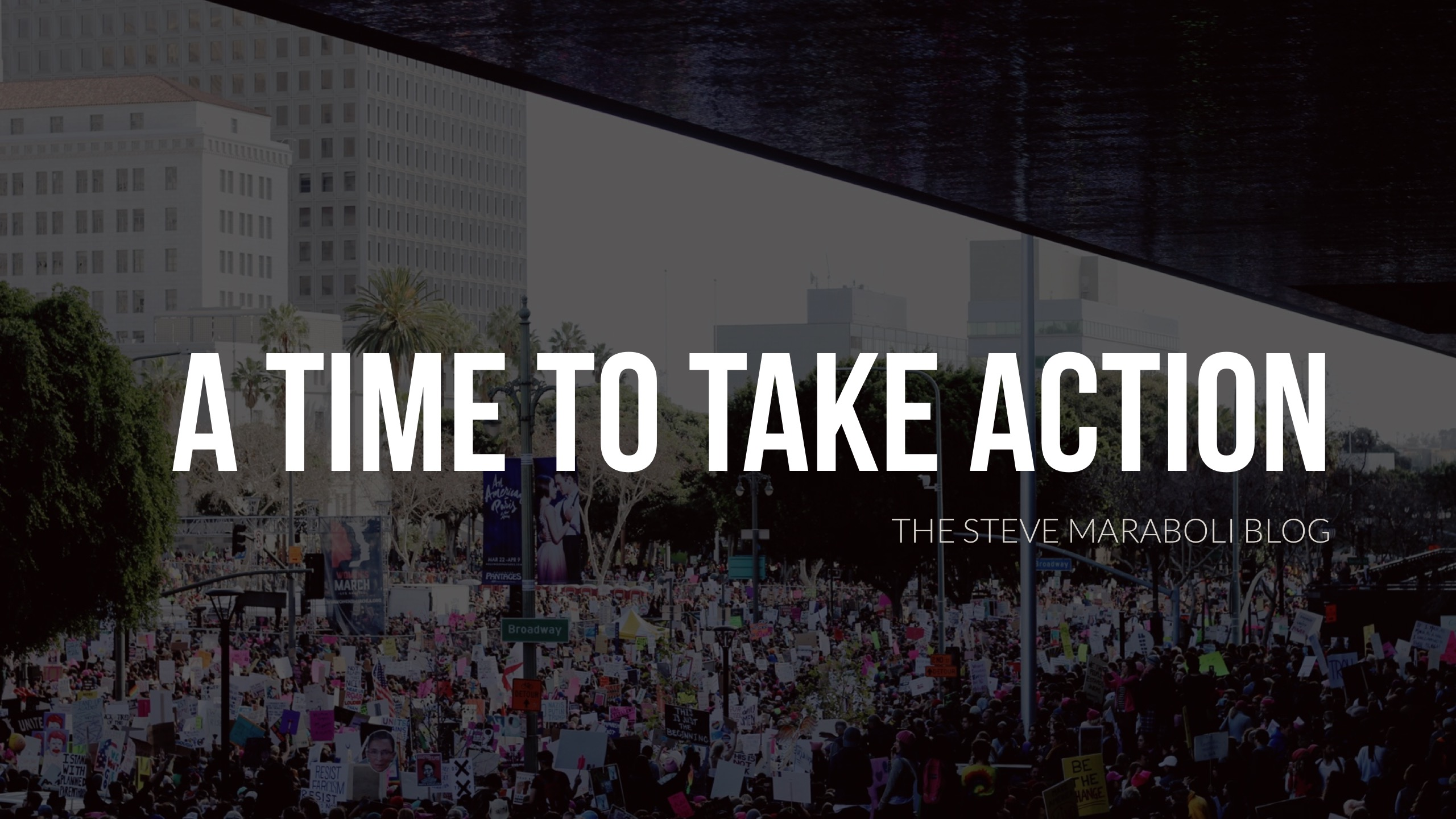A Time to Take Action