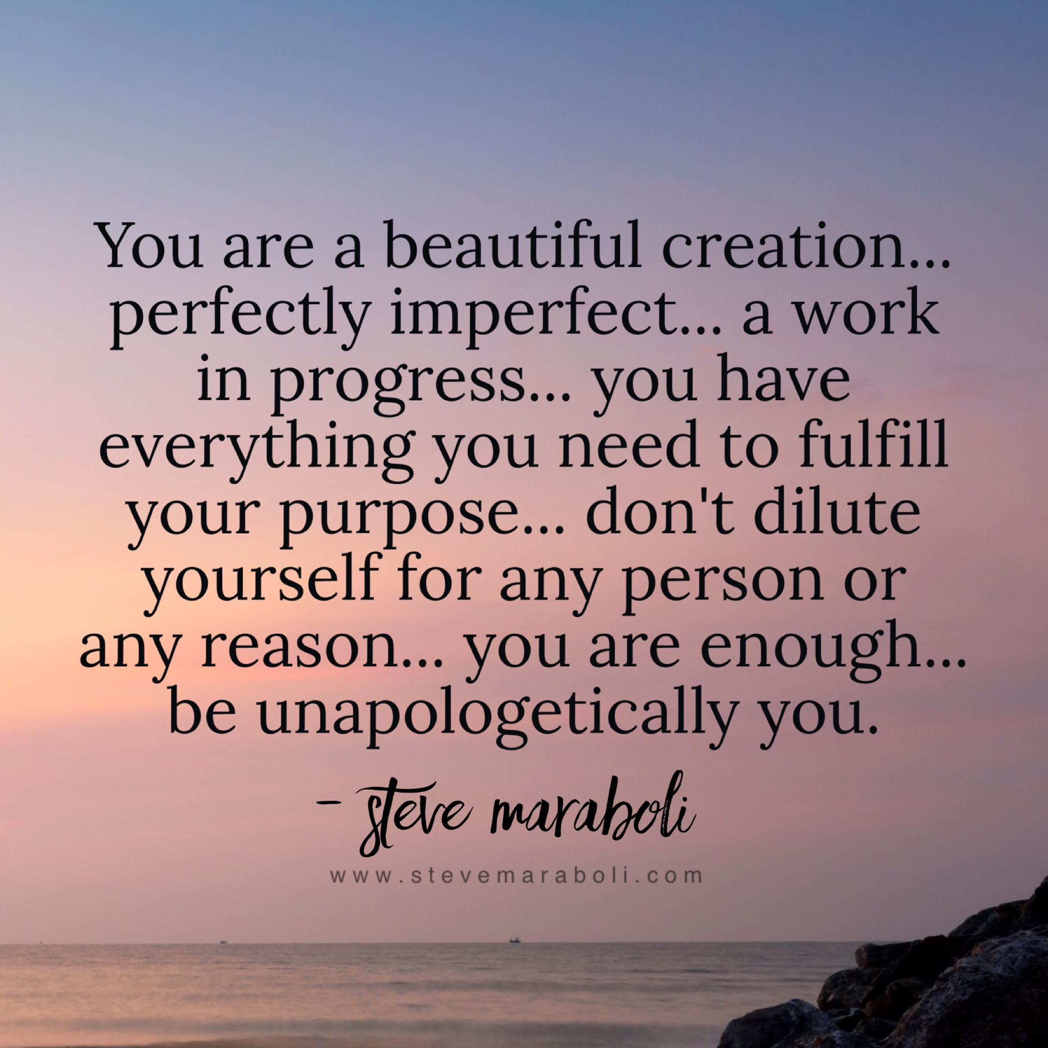 Your Truth and Your Circumstance - Steve Maraboli
