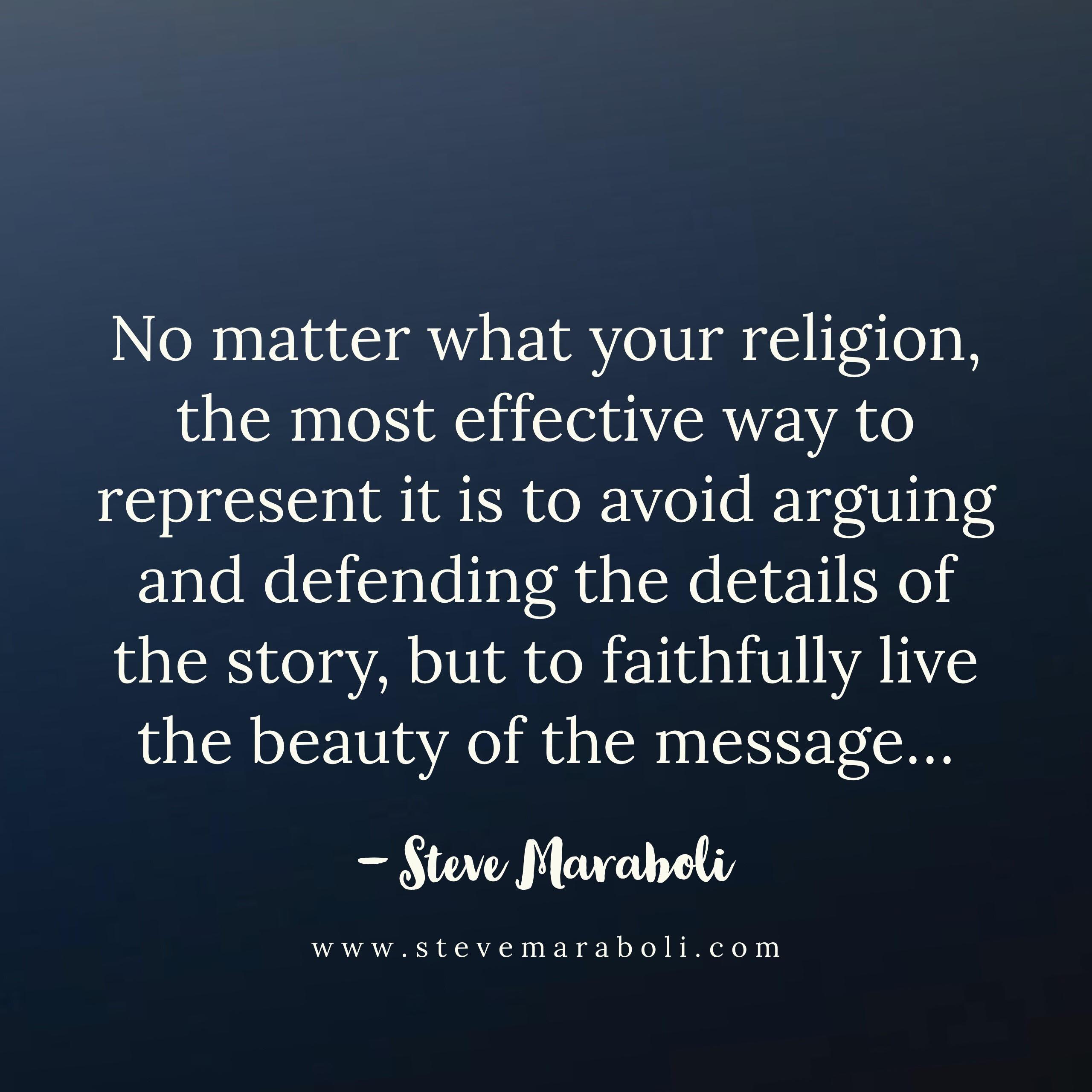 Reflections on God - Steve Maraboli